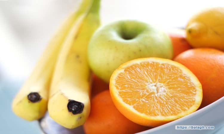 الموز والتفاح والبرتقال.. فوائد لا حدود لها