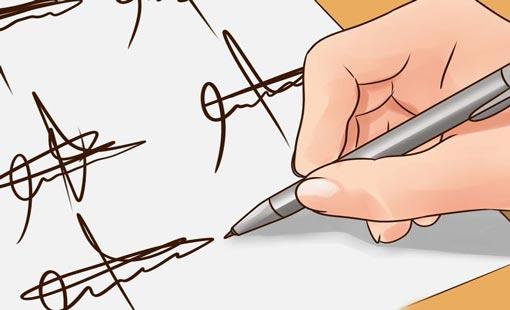 تحليل الشخصية من الخط والتوقيع