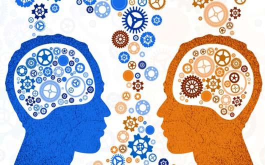 العلاقة العجبية بين الدماغ والألوان