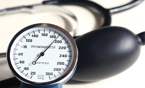 ضغط الدم في الحدود والآمنة