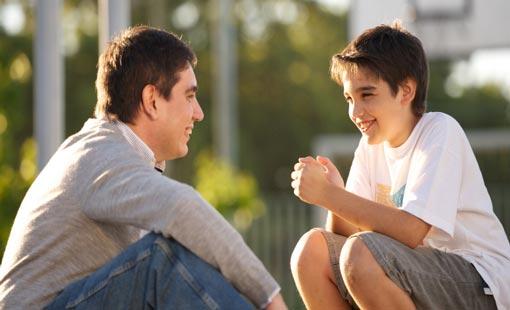 تخصيص الوقت للحوار مع الأبناء