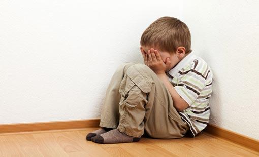 آثار العنف على شخصية الطفل