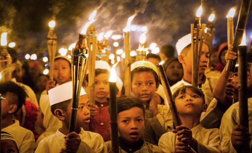 أجواء رمضان في إندونيسيا