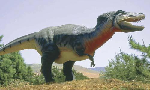 العثور على عظام أضخم ديناصور