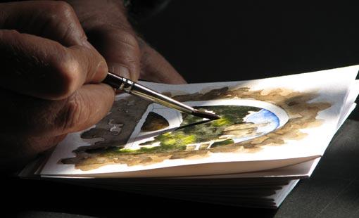 فجوة الإبداع في الفن التشكيلي العربي