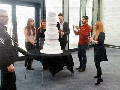 كعكة زفاف بـ 52.7 مليون دولار أمريكي