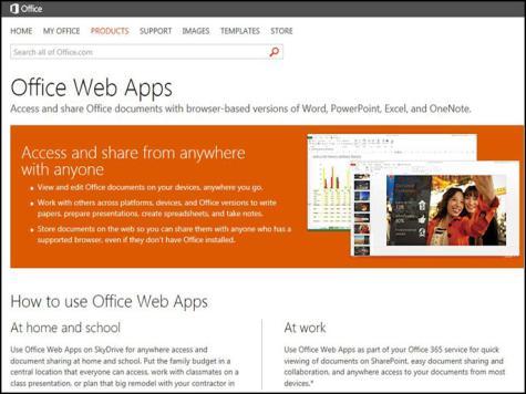 مزايا جديدة لتطبيقات أوفيس على الويب