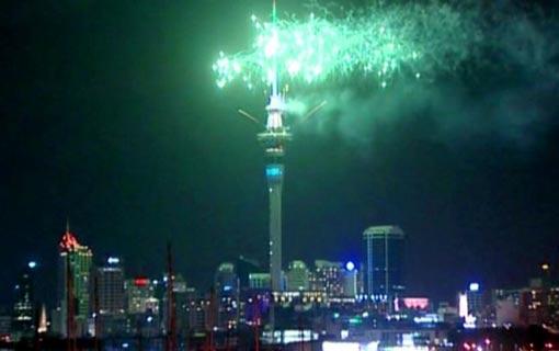أول مدينة تحتفل باستقبال 2017