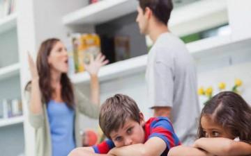 الطلاق أمام الأبناء