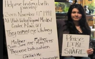 فتاة تعثر على والديها عبر الفيسبوك