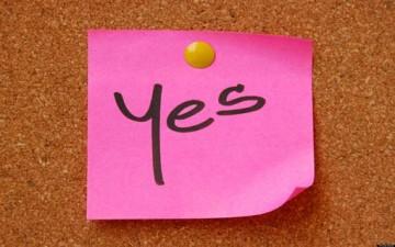 تأثير قوة كلمة نعم الإيجابية