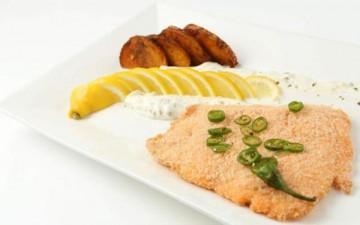 «سمك السكالوب» مع صلصة الأفوكادو