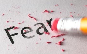 أربع خطوات للتغلب على الخوف