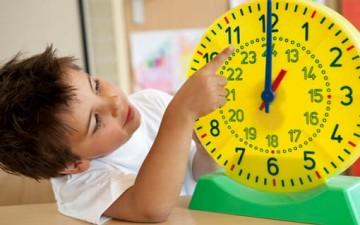 طفلكم وقيمة الوقت