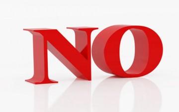 لا تسمع كلمة «لا»