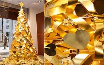شجرة عيد الميلاد بمليوني دولار!