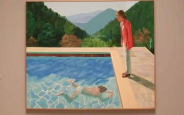 لوحة بيعت بـ90 مليون دولار ورسامها مازال حياً