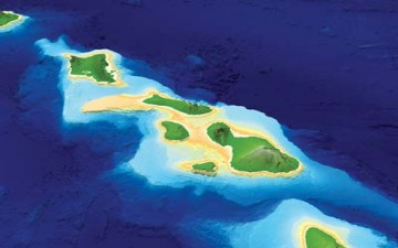 جزر هاواي تتحلل ببطء