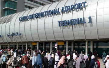 «حمار ضال» يرفع الطوارئ بمطار القاهرة