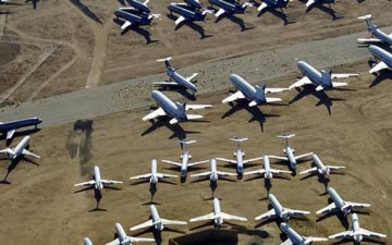أين تدفن الطائرات؟