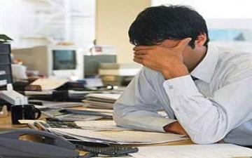 دراسة: ضغوط العمل أكبر مسبب لإكتئاب الموظفين