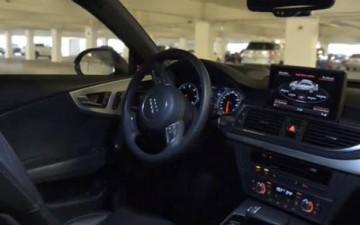 تطبيق ذكي لركن السيارة بدون سائق