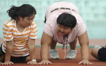 وباء السمنة في الصين (بالصور)